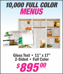 Lets Print Baby, Menus, Printing, Woodbridge, Middlesex County, NJ